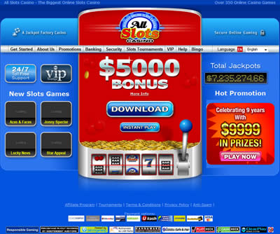flash casino slots